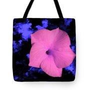 Single Pink Cactus Flower Tote Bag
