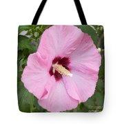 Single Pink Tote Bag