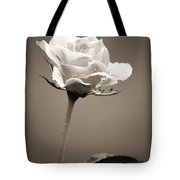 Single Rose Tote Bag