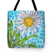 Single Summer Daisy Tote Bag