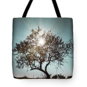 Single Tree Tote Bag