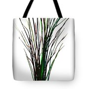 Single Winter Tree Painting Isolated Tote Bag