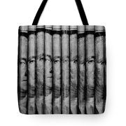 Singles In Black And White Tote Bag