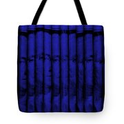 Singles In Blue Tote Bag