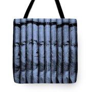 Singles In Cyan  Tote Bag