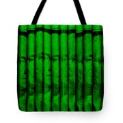 Singles In Green Tote Bag