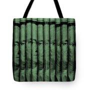 Singles In Light Green Tote Bag