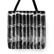 Singles In Negative Black Tote Bag