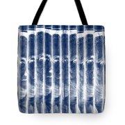 Singles In Negative Blue Tote Bag