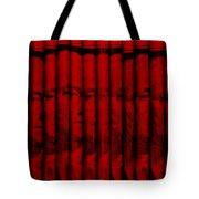 Singles In Red Tote Bag