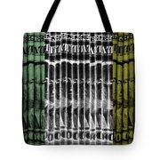 Singles In Tri Colors Tote Bag