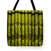 Singles In Yellow Tote Bag