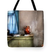Sink - The Jug And The Window Tote Bag by Mike Savad