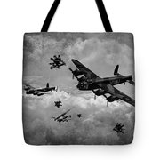 Sinking The Tirpitz Tote Bag