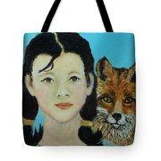 Sinopa Little Fox Tote Bag by The Art With A Heart By Charlotte Phillips
