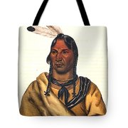 Sioux Chief 1883 Tote Bag
