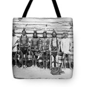 Sioux War Party Tote Bag