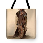 Sioux Warrior Tote Bag