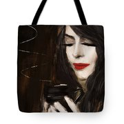Sip Of Relaxation Tote Bag