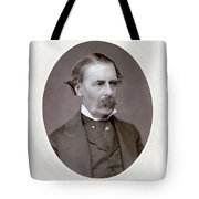 Sir Henry Thompson (1820-1904). English Surgeon. Photographed C.1882 Tote Bag