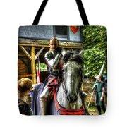 Sir Lancelot Du Lac Tote Bag