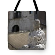 Siren Sphinx In The Medina Del Campo Tote Bag