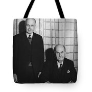 Sirs William And Lawrence Bragg Tote Bag