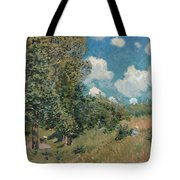 Sisley The Road, 1875 Tote Bag