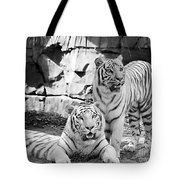 Sisters Black And White Tote Bag