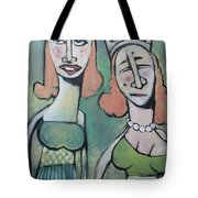 Sisters Going To The Ball Tote Bag