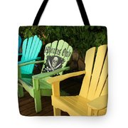 Sit At Your Own Risk Tote Bag