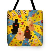 Sit Down And Change The World Tote Bag