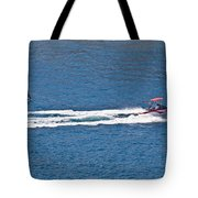 Sit Down Hydrofoil Ski Sport Tote Bag