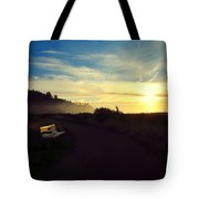 sit With Me And Watch The Sunset Tote Bag