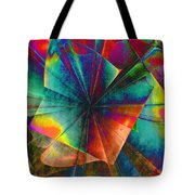 Sit With Me On The Carousel Tote Bag