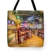 Sitting Area Inside Of A Tavern Bar Restaurant Tote Bag