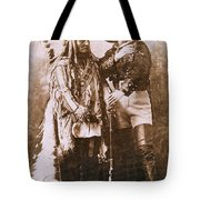 Sitting Bull And Buffalo Bill Tote Bag