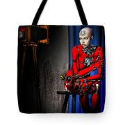 Sitting For The Camera Tote Bag