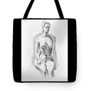 Sitting Model Study Tote Bag
