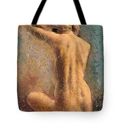 Sitting Nude 3 Tote Bag
