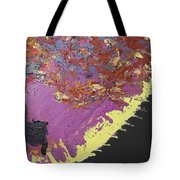 Sitting On The Edge Of The Earth Tote Bag