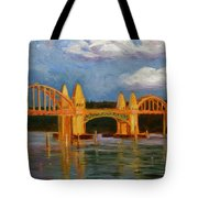 Siuslaw River Bridge Tote Bag