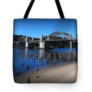 Siuslaw River Bridge Oregon Tote Bag