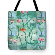 Six Of Cups Tote Bag
