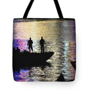 Six On A Boat Tote Bag