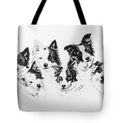 Six Packed Tote Bag