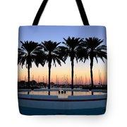 Six Palms Tote Bag