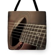Six String Tote Bag