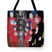 Six Things Halloween Party Collage Casa Grande Arizona 2005-2012 Tote Bag
