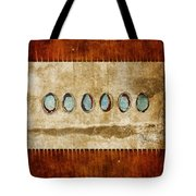 Six Turquoise Moons Tote Bag
